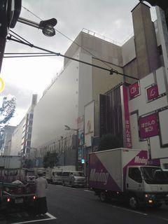 ビックカメラ新宿東口新店の予定地
