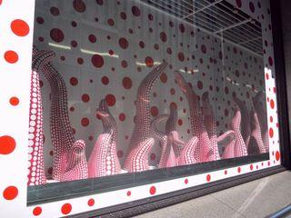 新宿伊勢丹のタコの展示