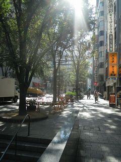 モア4番街の光景